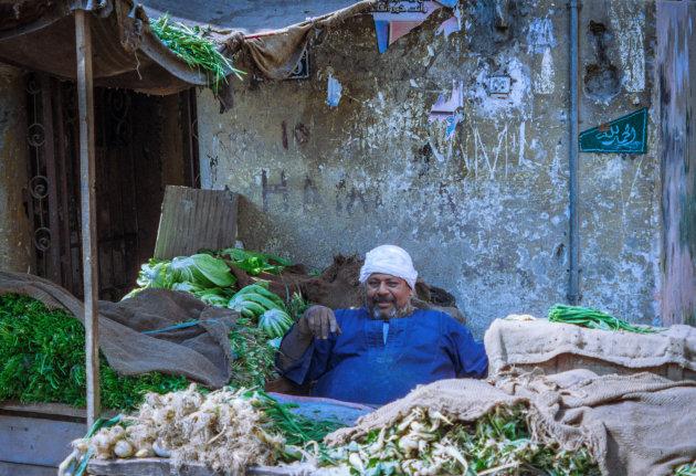 Op de markt in caïro