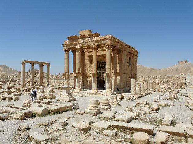IS verwoest een tempel in Palmyra