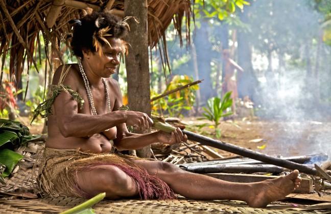 Lap lap, het nationale gerecht van Vanuatu