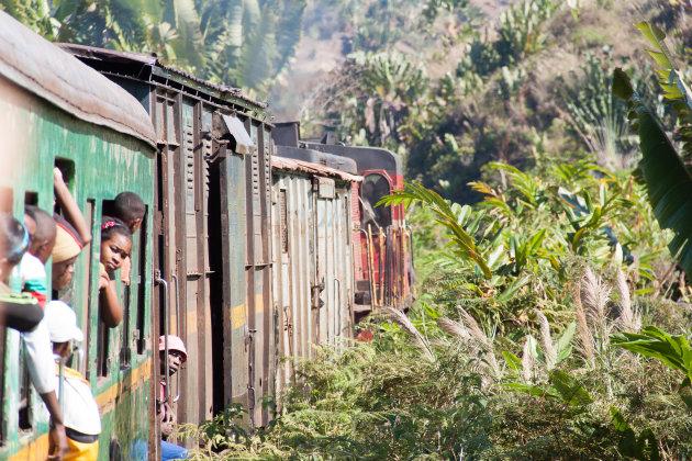 FCE railway van Manakara naar Fianarantsoa