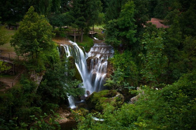 Onbekend waterval paradijs Rastoke