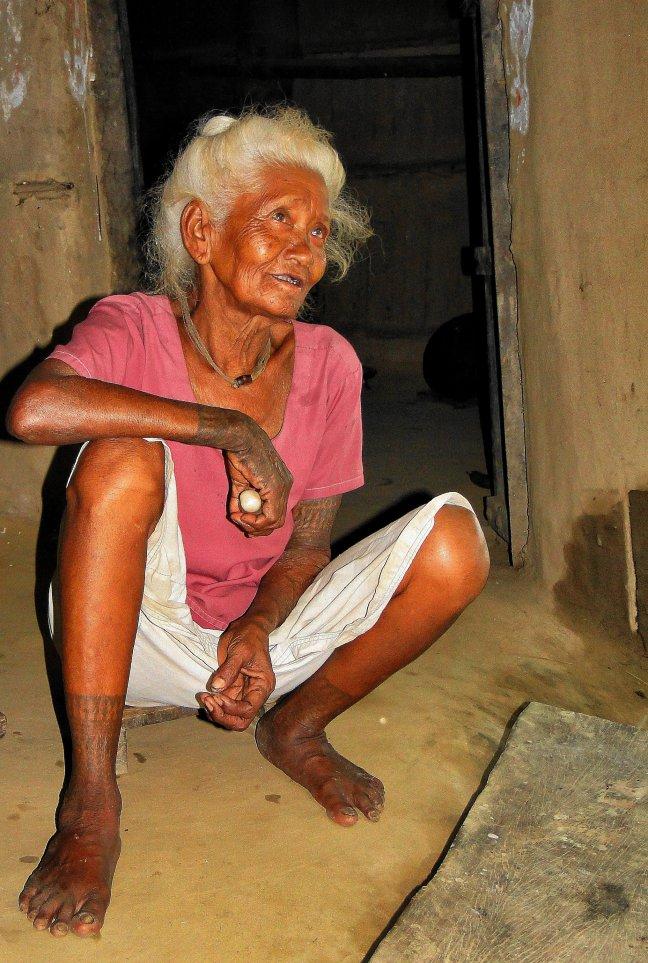 Tharu-vrouw