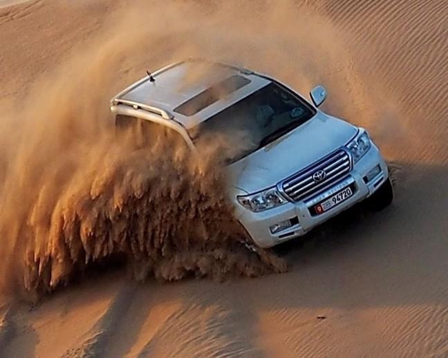 Dune bashen