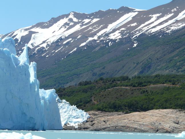 Drive-in gletsjer