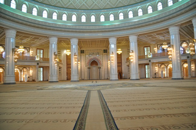interieur grote moskee