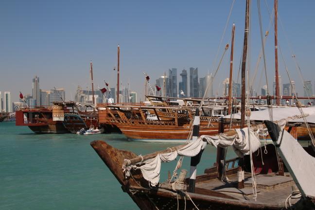 Doha met een open blik