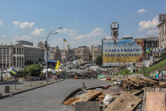 Kiev een jaar later!