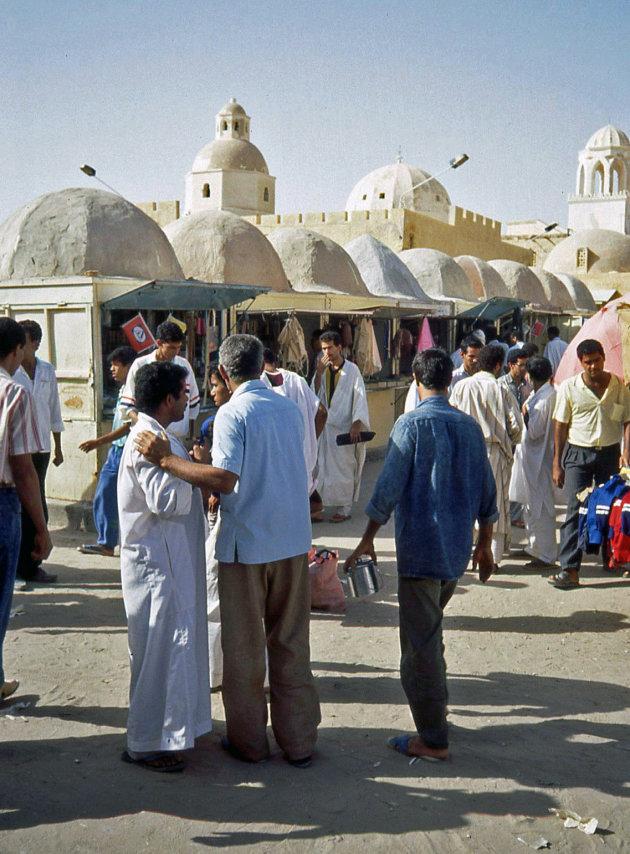 Op de markt in El Oued