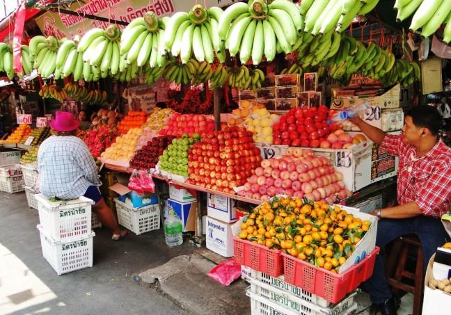 Fruit stapelen