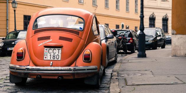 Straatjes in Boeda(pest); Burchtwijk