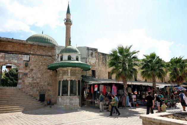 ingang El Jezzar Moskee