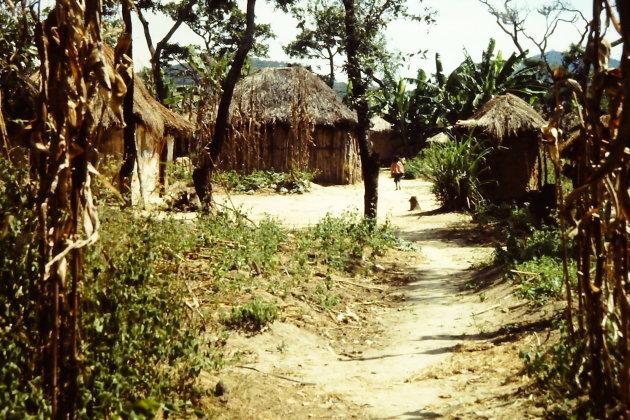 Rebellendorp bij Huambo