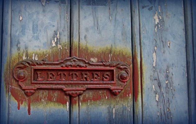 Detail deur