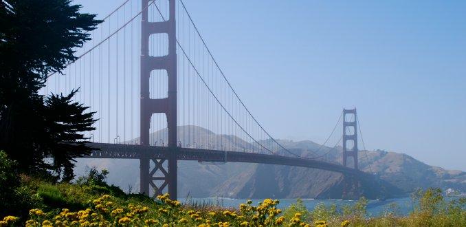 Fietsen over de Golden Gate Bridge