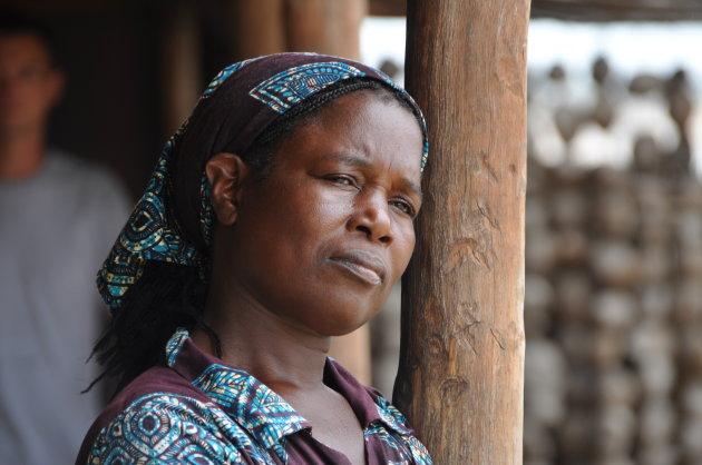 Mozambikaanse vrouw