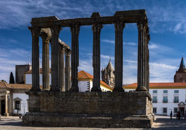 Evora, Templo de Diana