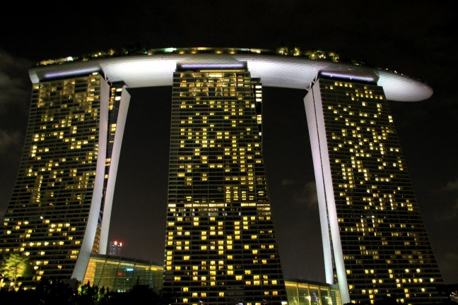 Luxe stopover in Singapore