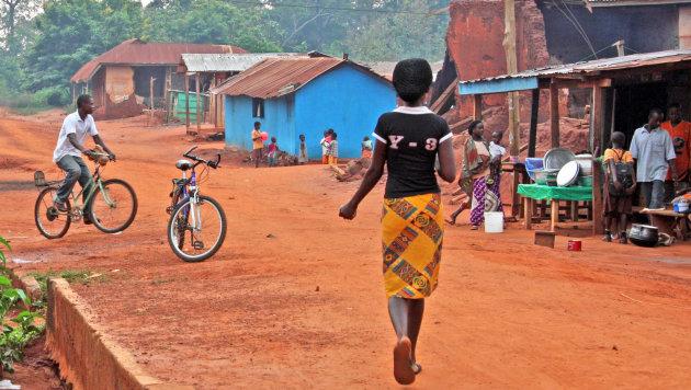 Het leven in een dorpje