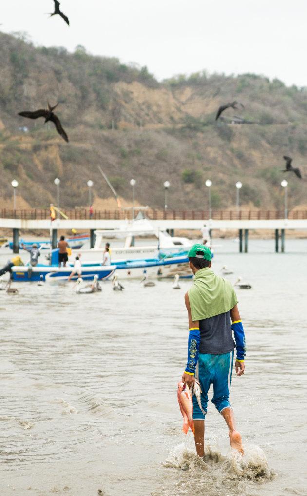 Vissertje bij Puerto Lopez