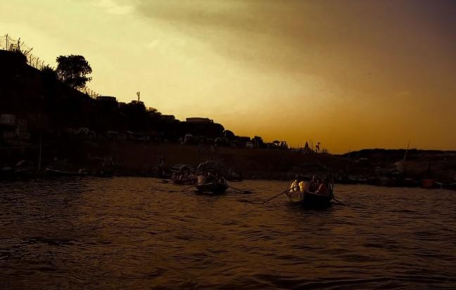 De heilige plaats Allahabad