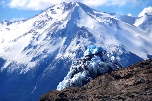 IJsbergje bij de Perito Moreno