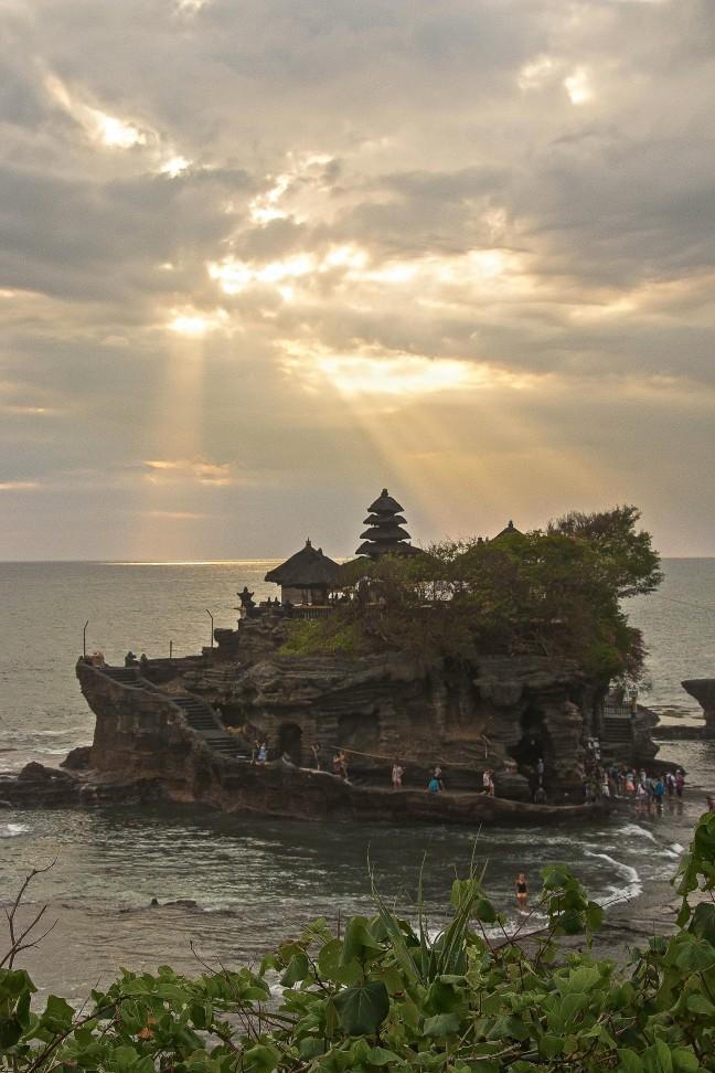 Mooi gelegen tempel