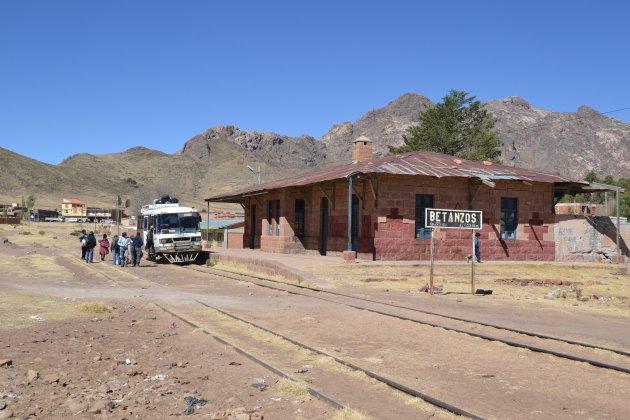 Prachtige treinreis Sucre-Potosí
