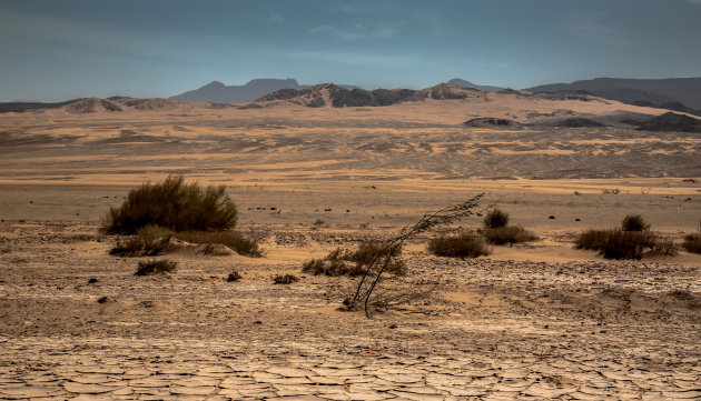 Zicht vanaf de Dead Sea Highway