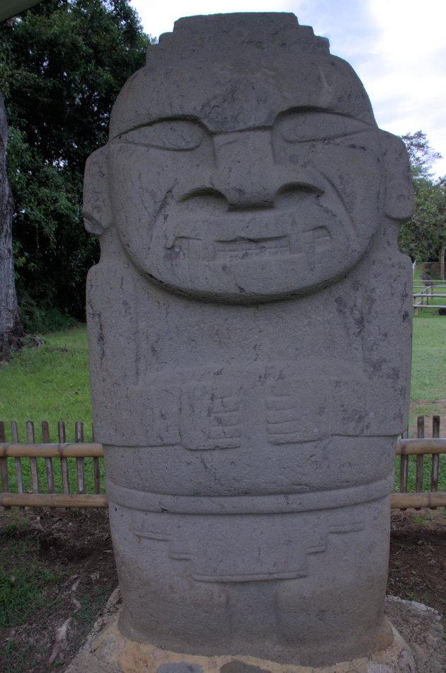 San Agustín indianen