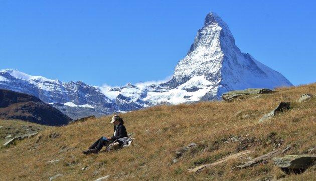 Een boekje onder de Matterhorn