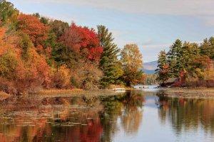 Herfst in New Hampshire