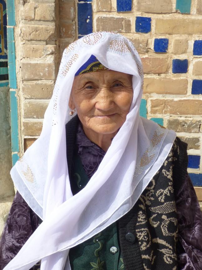 Lieve bejaarde dame