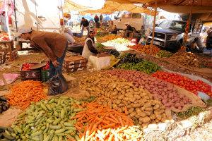 Weekmarkt in Azrou