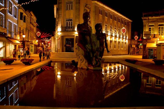 Viana by night