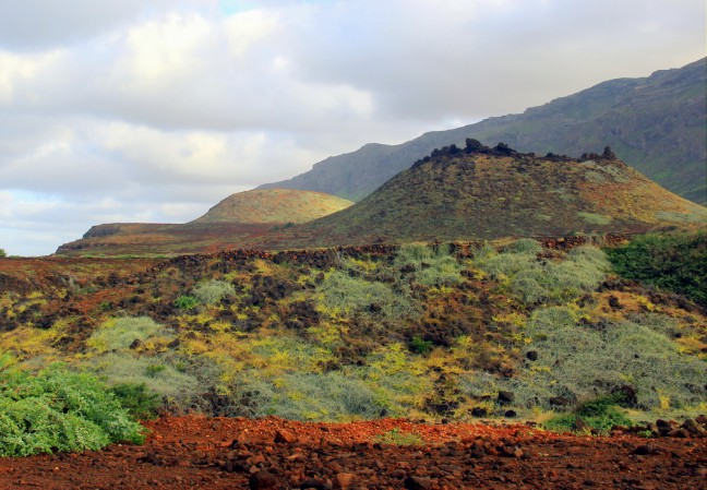 Wandelen langs vulkanen