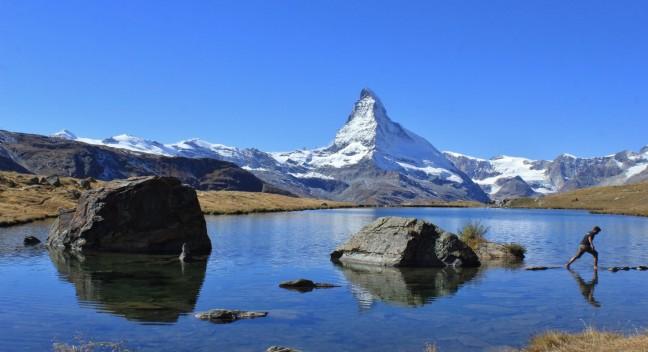Koude voeten onder de Matterhorn