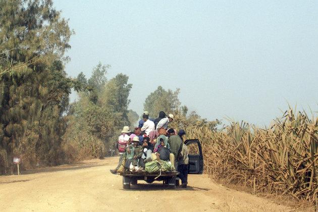 De weg naar Battambang