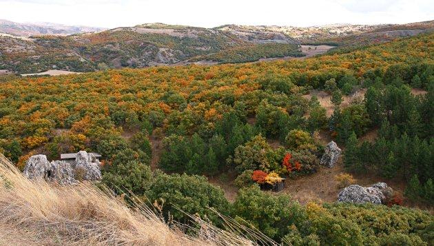 landschap Hattusa