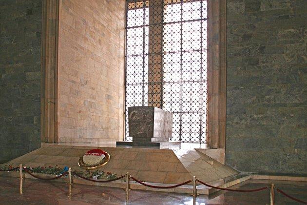 binnenkant mausoleum Atatürk