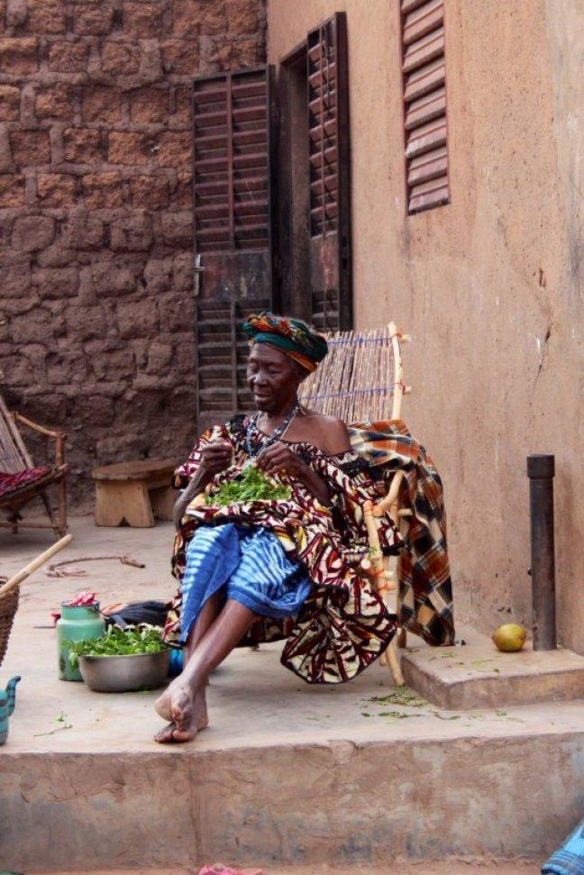 Oma in Burkina