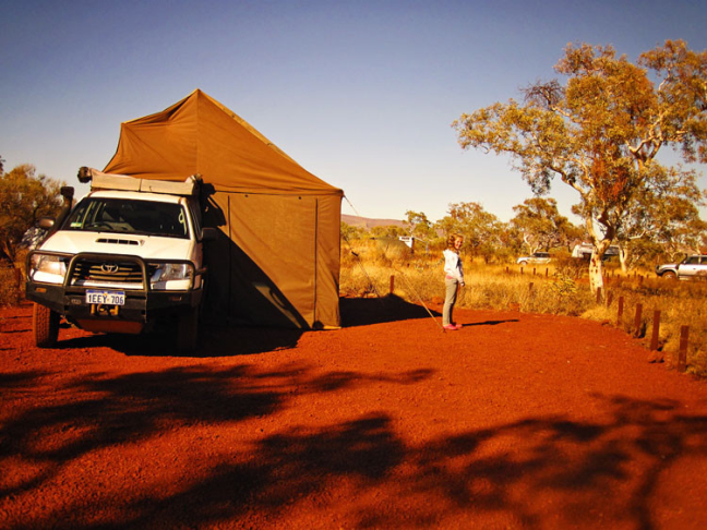 Off the road in West Australië