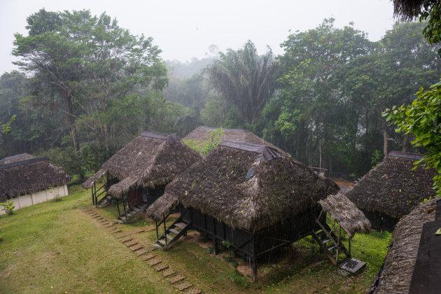 Neem de de-luxe kamer in de Cuyabeno Eco Lodge