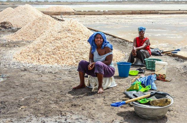 Zoutwinning in Ghana
