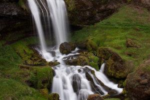 Verstopte waterval