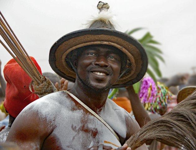 Oudjaarsfeest in Togo