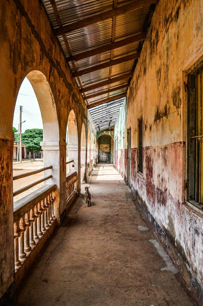 Koloniale huizen in Keta