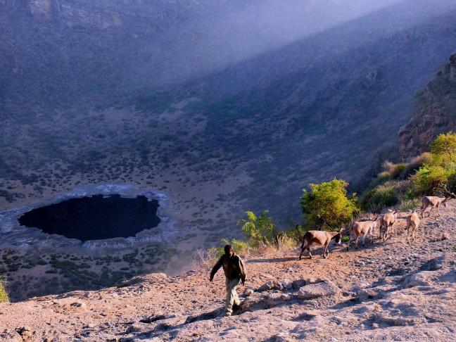 Kratermeer El Sod