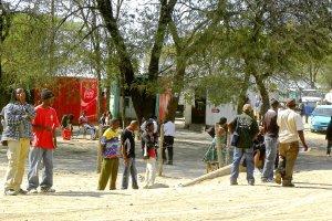 Rond hangen in Zambia
