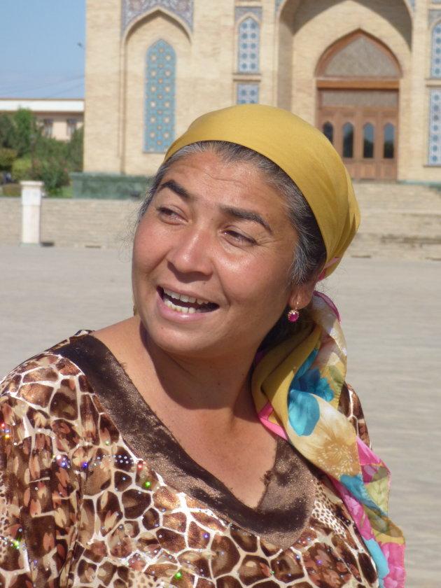 Vrouw uit Tashkent