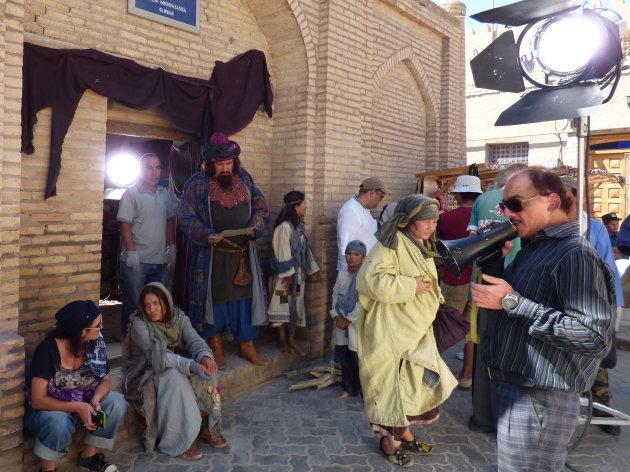 Filmopname in Khiva
